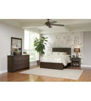 SLF Ruff Hewn Bedroom Set