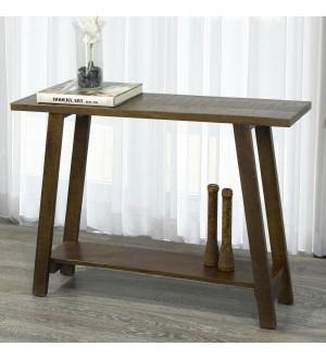 WW Volsa Console Table in Walnut