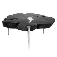 1-Akis Black Coffee Table