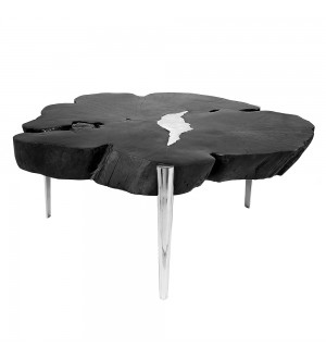 1-Akis Black Coffee Table