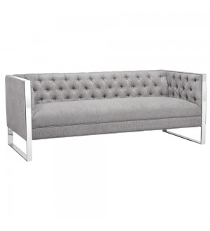 Austin Platinum Fabric 3 Seater