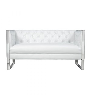 Austin Platinum Fabric Loveseat