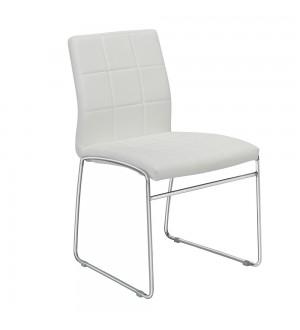 XC Vicky Chair-White PU
