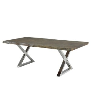 XC-ORGANIC LIVE EDGE DINING TABLE 72″