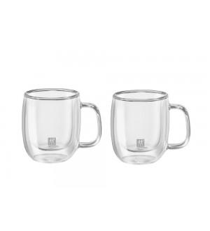 ZWILLING Sorrento Plus Double Wall Espresso Mug Set – 2 Piece Set 39500-110