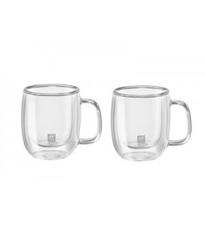 ZWILLING Sorrento Plus Double Wall Coffee Mug – 2 Piece Set 39500-112