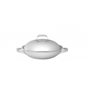 ZWILLING Truclad Wok with Lid 13″ / 32 cm 40168-320