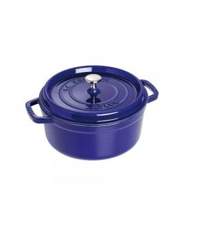 STAUB CAST IRON Round Cocotte 5.5 qt. / 5.2L 40510-284