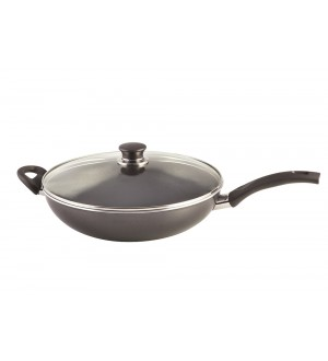 ZW BALLARINI Cortina Non – Stick Wok with Lid 12.5″ / 32 cm 75000-053