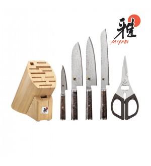 MIYABI 5000 MCD 67 6 PIECE KNIFE SET