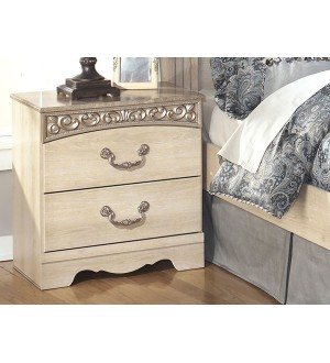 Ashley Catalina B196-92 2 Drawer Night Stand