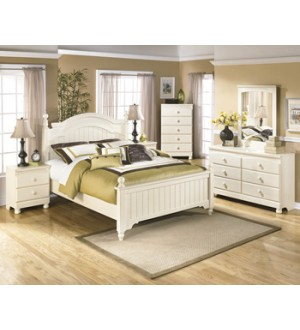 Ashley B213 Queen Bed+ Night stand
