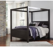 B273 Daltori Canopy Queen Bed