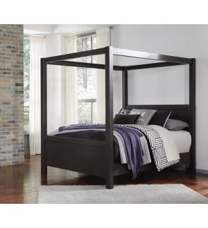 B273 Daltori Canopy Queen Bed