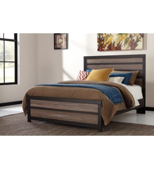 Ashley Harlinton Queen bed & 1 Night Stand