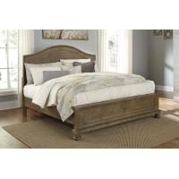 B659 Trishley King panel  Bed