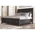 Ashley B671 King Storage Bed