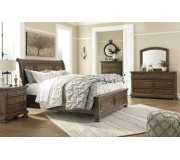 Ashley B719 Sleigh Bed Package