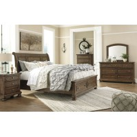 Ashley B719 Sleigh Bed