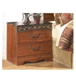 Ashley Fairbrooks Estate - Two Drawer Night Stand