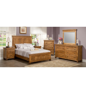 Handstone Provence-Solid-wood Bedroom
