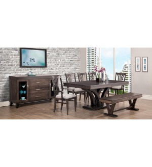 Handstone Verona-SolidWood Dining set
